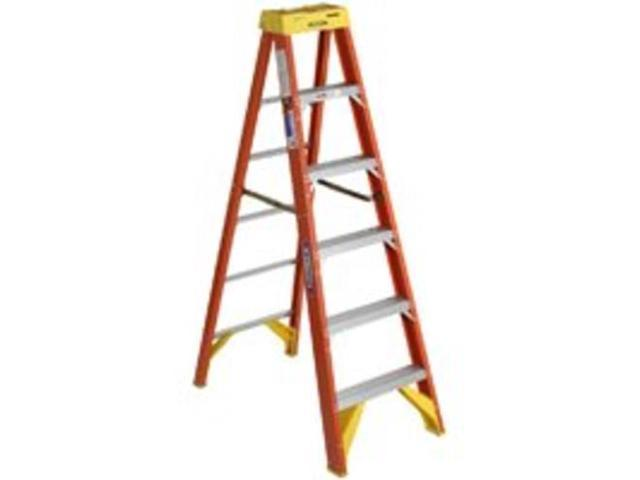 FBGL STEPLADDER TYPE1A 6FT ELECTRO-MASTER 6206CA 051751096132