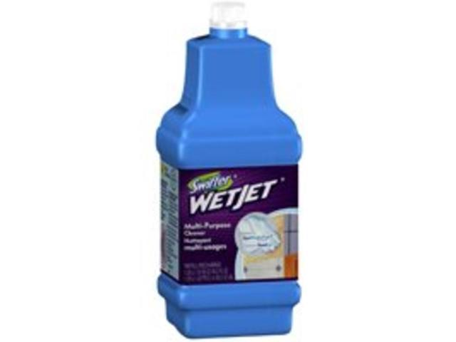 WetJet System Cleaning-Solution Refill, 1.25 Liter, Open Window Fresh Scent