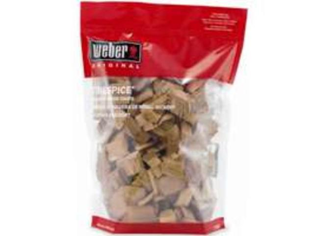 3 Lb Hickory Wood Chips WEBER-STEPHEN Charcoal and Lighters 17053 077924170539