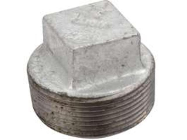 1/2 Galv Malleable Plug WORLDWIDE SOURCING Galvanized Plug 31-1/2G 045734103139