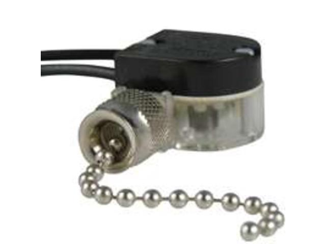 GB Electrical GSW-31 Single Throw Pull Chain Switch-PULL CHAIN SWITCH
