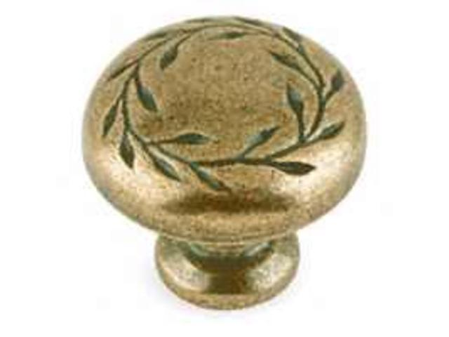 Amerock BP1581-R2 1.25 in. Knob - Weathered Brass
