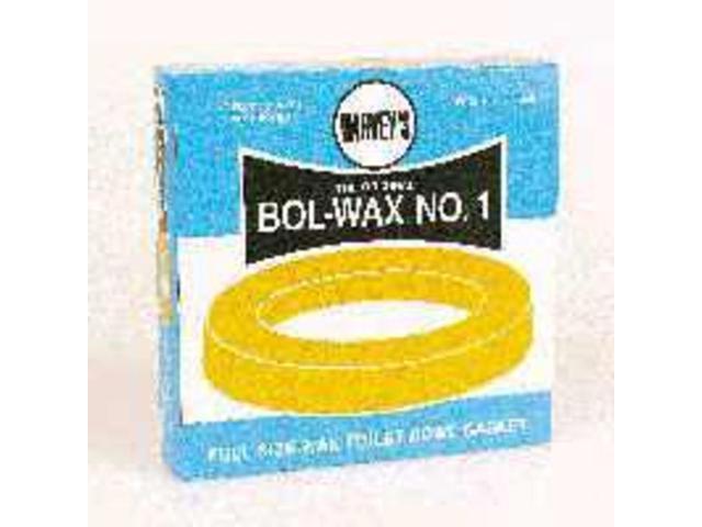 Toilet Bowl Wax Ring/No Flange HARVEY'S Wax Rings 007005-48 078864070057