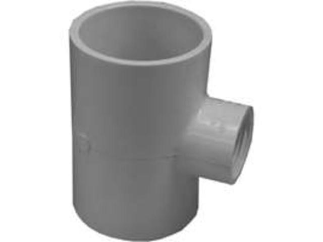 2X2X3/4 Reduc Sxsxfip PVC Tee GENOVA PRODUCTS INC Pvc Fittings - Tees & Crosses
