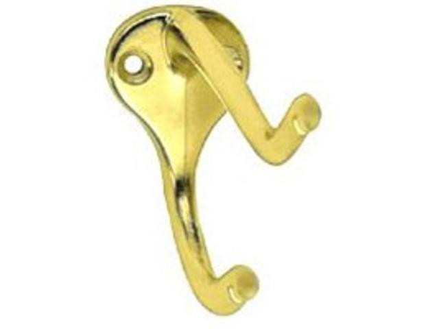 Stanley Hardware Coat/Hat Hook 2Pk 2180-6377