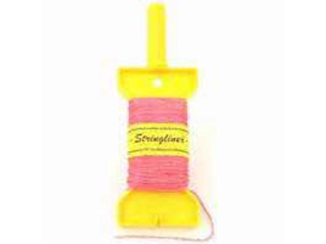 Stringliner Company 11412 270-Foot Mason Chalk Line Yellow Twisted Nylon - Each