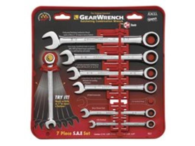 KD Tools 9317 SAE Combination GearWrench Set - 7-Piece