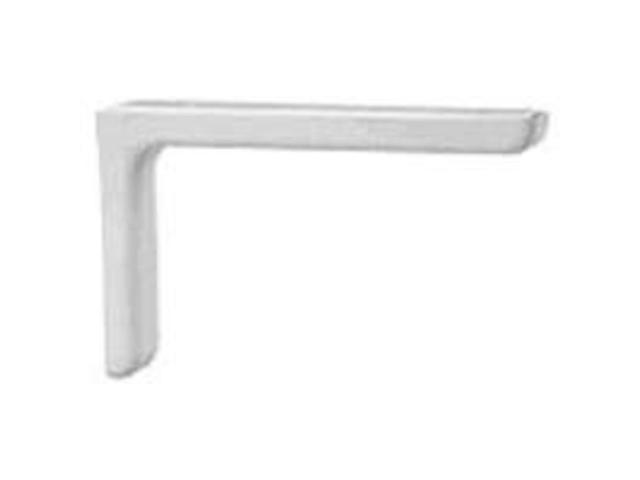 Brkt Shlf 10In 5-3/4In 1-1/2In MINTCRAFT Shelf Brackets 25226PHL White
