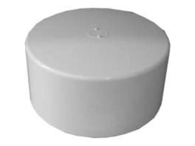 6In PVC S and D Cap Hub GENOVA PRODUCTS INC Pvc-S&D Caps 40156 038561004830