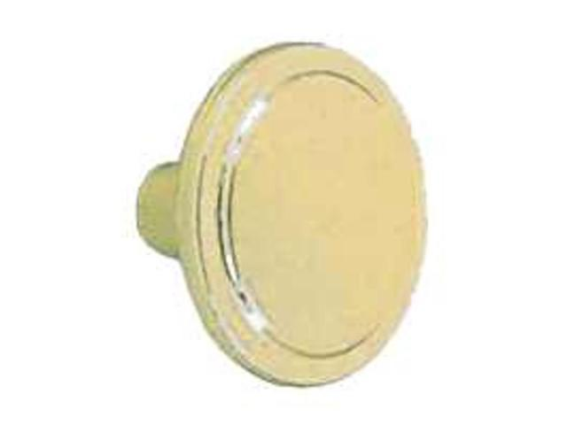 Amerock BP3443-BB 1.19 in. Round Knob - Burnished Brass