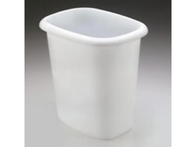 Rubbermaid Vanity Wastebasket in White - 6 Quart