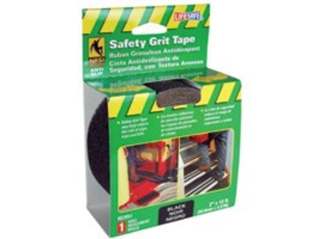 Incom Manufacturing RE3951 2-in X 15 Black Gator Grip Anti Slip Safety Grit Tape