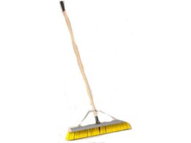 Push Broom w/Brace 24In Scrpr MINTCRAFT PRO Push Brooms 1434ASCOR 718928711884