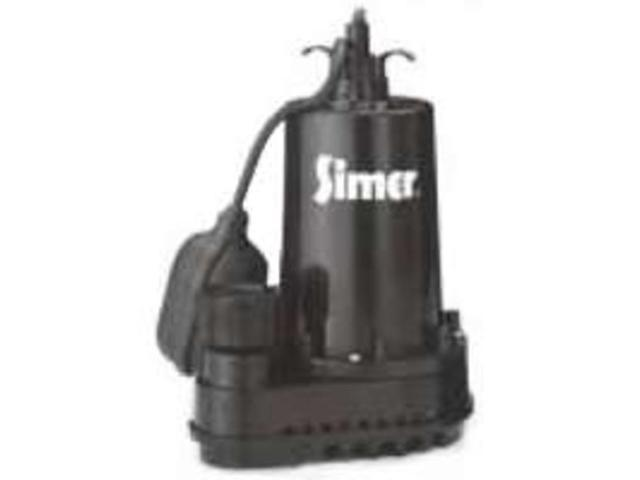 Sta-Rite Industries 2975PC 1/2 HP Thermoplastic Sump Pump with Automatic Float S