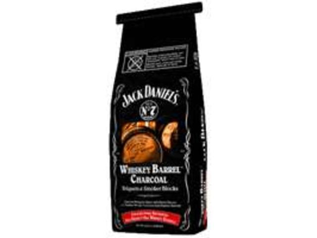 Jack Daniels Charcoal PACKAGING SERVICE Charcoal and Lighters JD.WBCDX.U.06