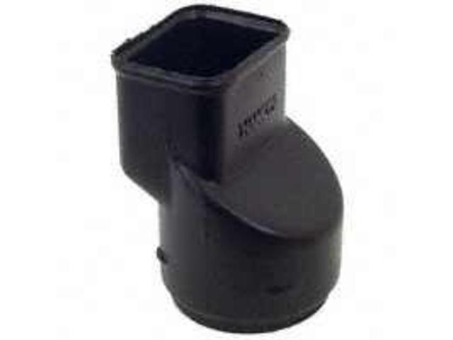 Hvy Dty Downspout Adapter HANCOR Corrugated Snap Fittings 0464AA 096942301909