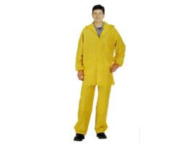 Diamondback 8127LBXX 2-Piece Yellow Rain Suit, XXL