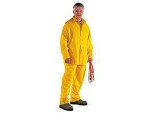 Diamondback SRS3/111-XXL 3-Piece PVC/Poly Rainsuit XXL 3-Piece Heavy-Duty - Each