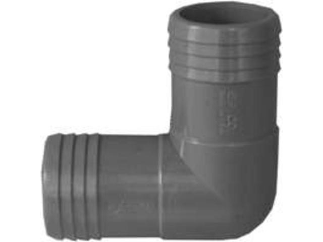 1-1/2In Plastic Insert Elbow GENOVA PRODUCTS INC Insert Fittings 350715