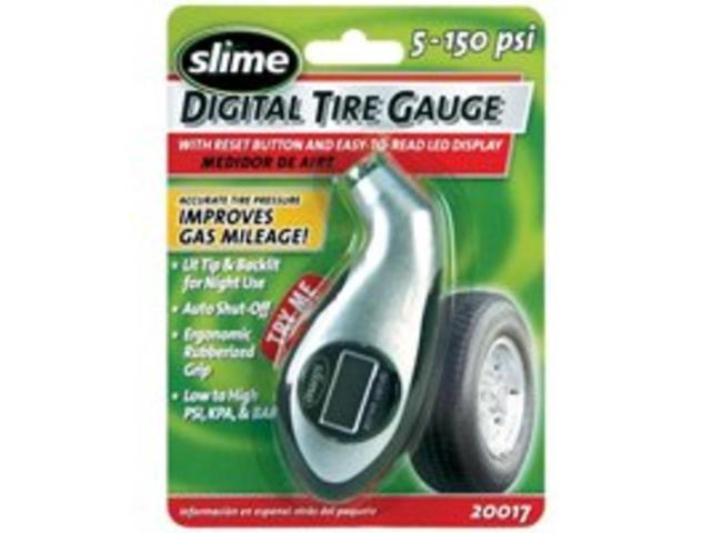 Gauge Tire 0-150Psi Slime Dig ITW Global Brands Tire Gauges 20017 716281001604