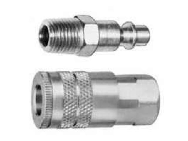 Plews/Lubrimatic 13-201 Coupler And Nipple Set-COUPLER & NIPPLE SET