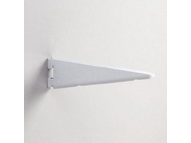 7In Twin Slot Bracket KNAPE & VOGT MFG CO Shelf Brackets For Standards 182 WH 7