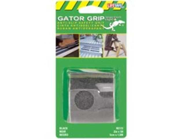 Incom Manufacturing  RE172 2-in X 5 Black Gator Grip Anti Slip Safety Grit Tape