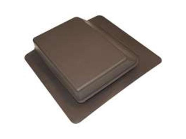 Canplas Inc 6065BR Brown SlantBack RoofVent Louver Slant Back - Each