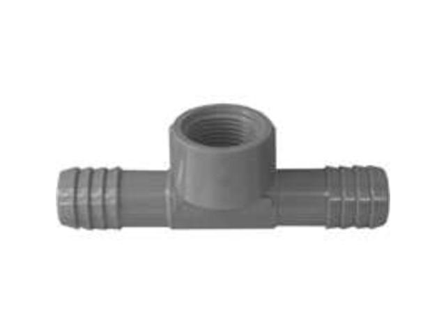 Poly Tee 1/2Barb X 1/2Mpt GENOVA PRODUCTS INC Insert Fittings 351455