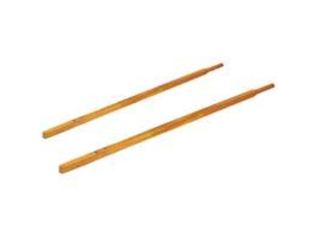 Wood Handles For 6Cu Poly Wb MINTCRAFT Wheelbarrow Parts HDLS-6PMB-OR