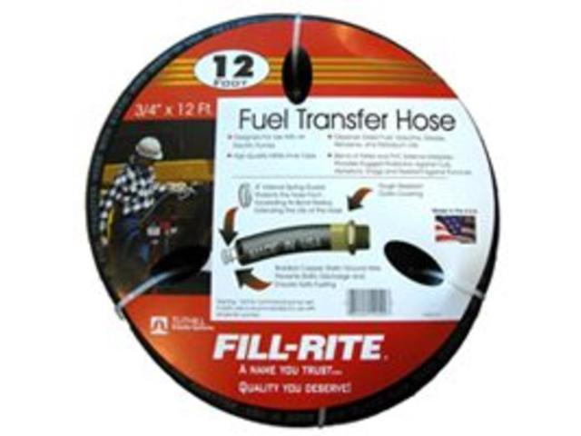 Hos Xfer Fuel 3/4In 12Ft Npt Tuthill Corporation Lawn and Garden Hoses FRH07512