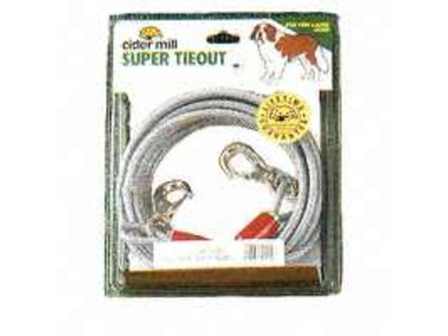 Booda Products Cider Mill Dog Tieout, Clear, 20 Feet - 3442020