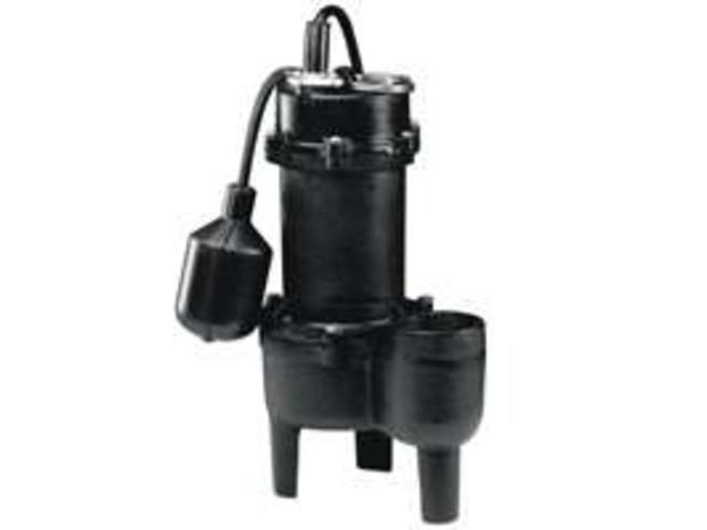 Wayne Pumps RPP50 1/2 HP Cast Iron Sewage Pump