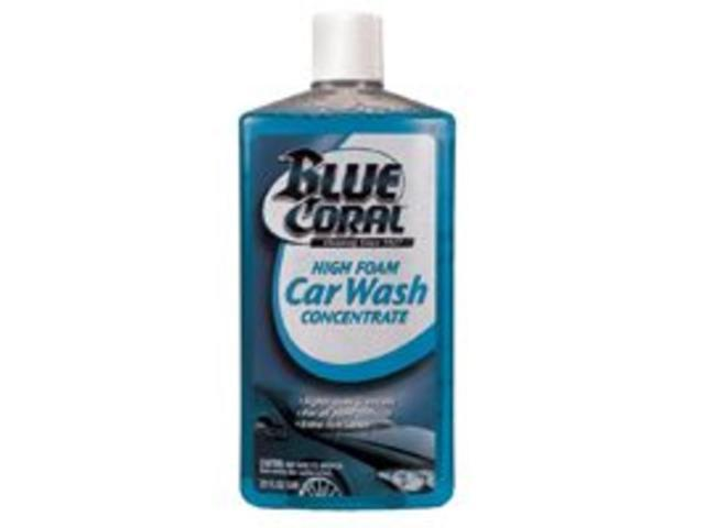 Wsh Car 20Oz Btl Liq Blu Flrl ITW GLOBAL BRANDS Exterior Cleaners WC102 Blue