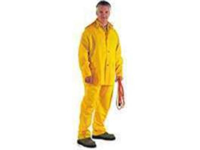 Diamondback SRS3/111-XXXL 3-Piece PVC/Poly Rainsuit /35-MM 3-Piece Heavy-Duty -