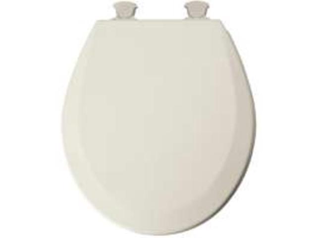 Bemis Mfg 46ECDG 346 Round Biscuit Toilet Seat Molded Wood - Each