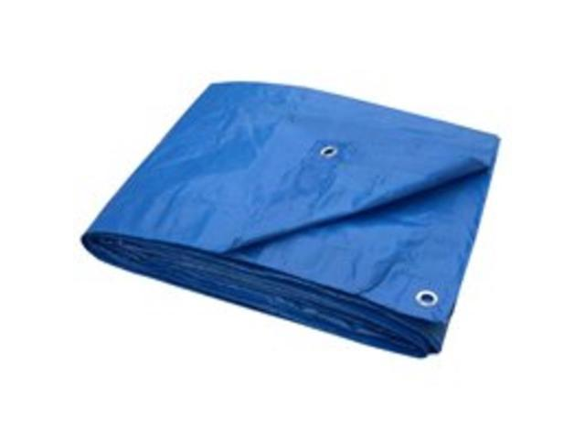 Toolbasix T1216BB70 Blue Tarp 12 X 16 ft. Light-Duty Economy
