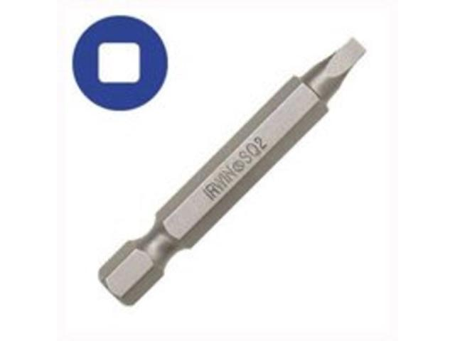 Irwin 3522031C Irwin Power Screwdriver Bit-#1 SQ RECESS SCREW BIT
