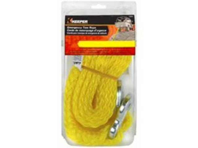 Keeper 02858 16ft Tow Rope 4500 lbs. Max Vehicle Wt.