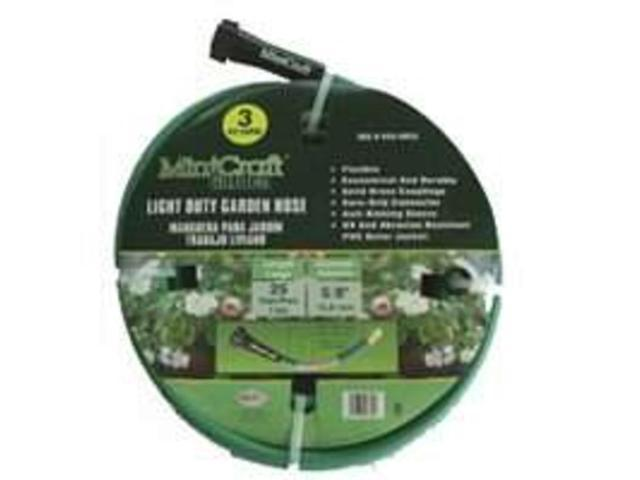 Gardn Hse PVC 25' 5/8In 3 Ply MINTCRAFT Garden Hose GH-585013L 045734985452