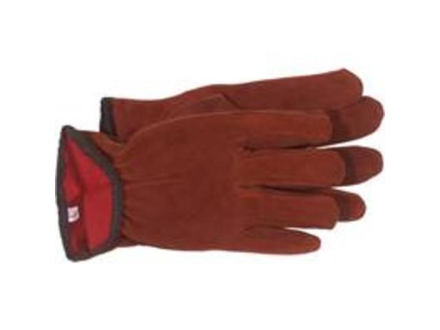 Boss Gloves 4175L Lined Split Leather Gloves - Large