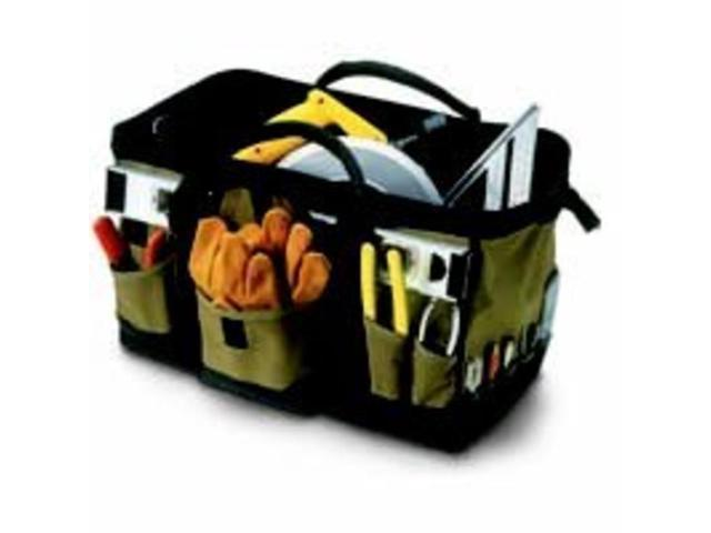1163 31-Pocket 18 in. Megamouth Tool Tote Bag