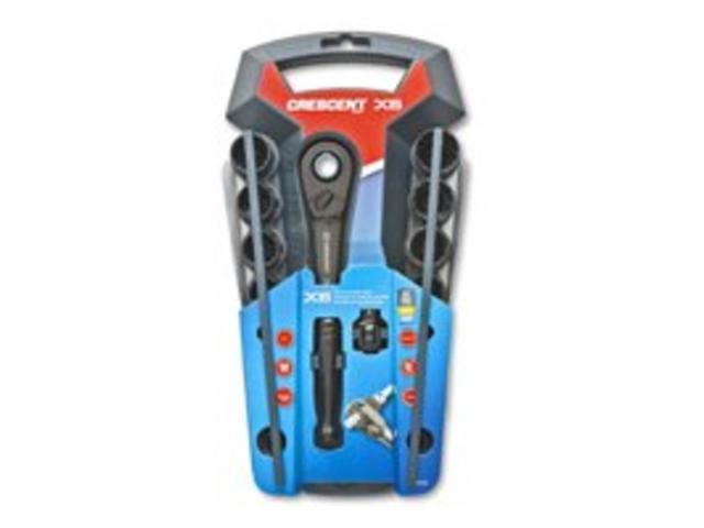 Set Skt 3/8In Splne 20 Csnt X6 APEX TOOL GROUP Sockets Sets - Impact CX6PT20