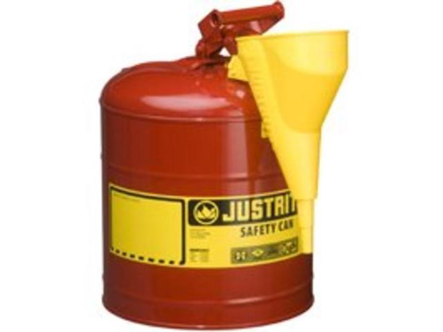 Justrite 7150110 Type I Galvanized Steel Safety Can