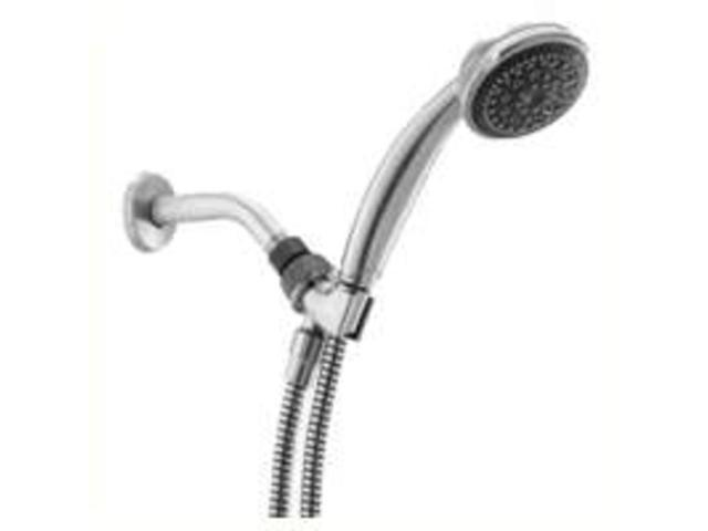 Alsons Corporation 76513SN 5-Spray Hand Shower Satin Nickel Hand Held - Massage