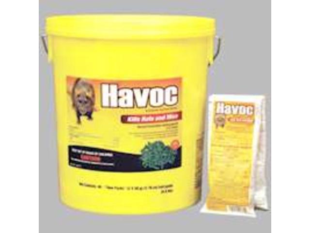Pail Havoc Rat/Mouse Bait NEOGEN Rodent Bait 116372 095242263726