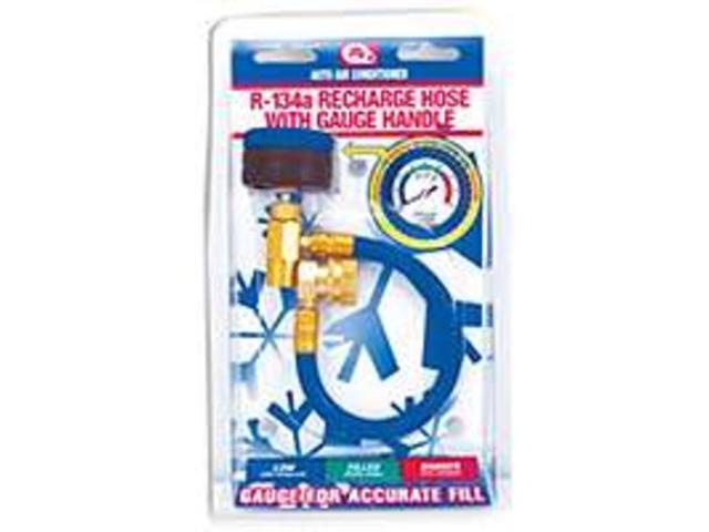 Hos Recharge Mtl w/ Gauge Hndl IDQ OPERATING, INC. AC Coolant 401GMCS Metal