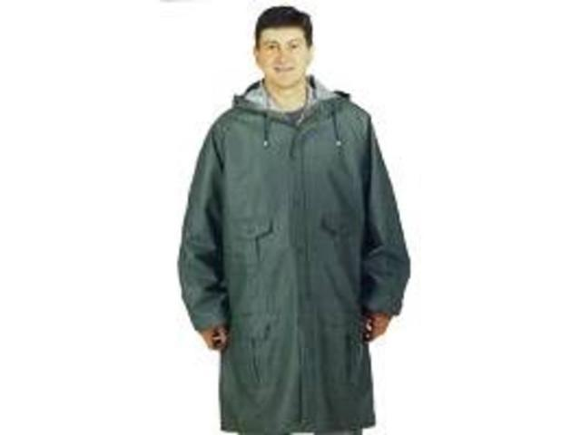 Diamondback 8156-M Green/Blue Rain Parka Heavy-Duty, Medium