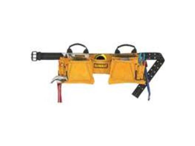 CLC DG5372 DeWalt 12-Pocket Carpenters Suede Apron