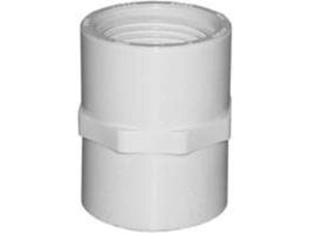 Genova Products 1in. PVC Sch. 40 Threaded Couplings  30128 - Pack of 10